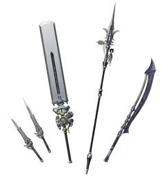 Noctis' Armaments IV from Dissidia Final Fantasy NT