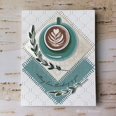 It's a Date…a Coffee Date! Coffee Words, Coffee Love, Birthday Cards For Men, Man Birthday, Coffee Shake, Winter Cards, Cards For Friends, Hero Arts, Just Giving