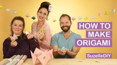 How to Make Origami (featuring White on Rice)