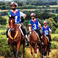 """Mohammed RSM, Hamdan MRM and Rashid MRM. HH shk Mohd: """"Relishing a challenge is one of the secrets success....With my sons in one of the many endurance horse races we have competed in around the world"""""""
