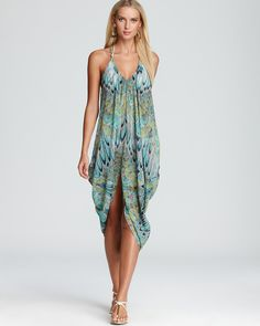 06da38d8ea504 Mara Hoffman Feather Draped Dress Swimsuit Cover Up Women - Contemporary -  Bloomingdale s