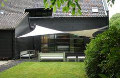 Outdoor Shade, Patio Shade, Shade Garden, Backyard Patio Designs, Pergola Designs, Garden Design Online, Garden Sail, Ideas Terraza, Outdoor Projects