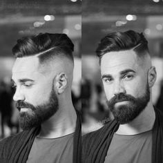 Wake Up and Smell the Barbicide • menshairstyletrends:   Haircut by @ambarberia on...