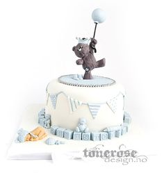 IMG_8676 Baby Birthday Cakes, Baby Boy Cakes, Cakes For Boys, Torta Baby Shower, Baby Boy Shower, Baby Christening Cakes, Love Cake, Cute Cakes, Baby Design