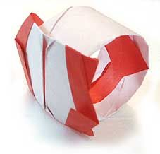 Origami Ring great directions