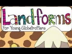 ▶ Landforms of the Earth -with Quiz activity for Kids - YouTube