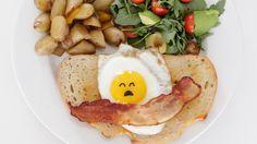 You've Never Seen a Cuter Egg Sandwich: Have you guys met Sanrio's® laziest character Gudetama yet?