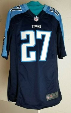 9f71d9d7d65 Nike Eddie George On Field NFL Players Jersey Sz S Tennessee Titans #Nike  #TennesseeTitans
