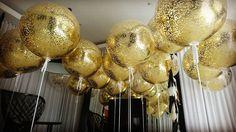"""625 Me gusta, 27 comentarios - Boutique Balloons Melbourne (@boutique_balloons_melbourne) en Instagram: """"24 karat magic in the air!!!"""""""
