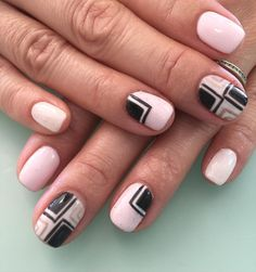 Light pink has a good contrast on black, why not try it on your nails. Paint your nail pink and blot in some black paint over it. To add some more delicacy to your light pink nail, add some white with golden strips on a light pink base. Pink caviar nail designs, caviar are the … … Continue reading →
