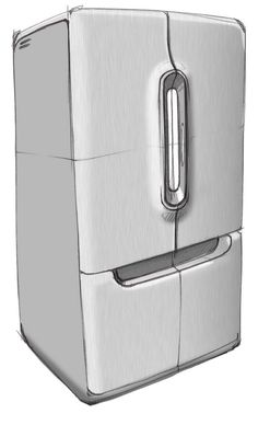Samsung French Door Fridge by Ryan Callahan at Coroflot.com
