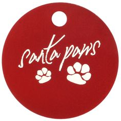 Custom Holiday Themed Pet ID Tags - choose from green or red and 7 different #Christmas design! Great for making your pooch as festive as you :)