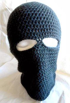 Free Crochet Pattern: Basic Ski Mask
