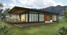 Karoleena Homes...I love these pre-fab eco friendly cabins.