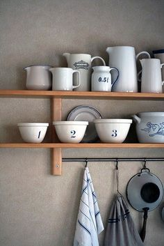 Dagmar's Home: My dream home will have a shabby chic kitchen. These are some shabby chic inspirations from Pinterest that I love.
