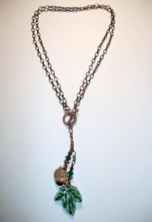 Art Jewelry Elements: Tutorial: Convertible Fall Necklace
