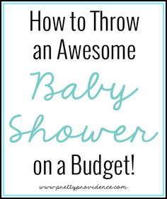 35  DIY Baby Shower Ideas Everyone Needs To Know About