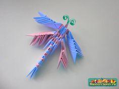 modular origami: dragonfly
