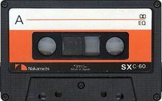 Nakamichi SX C-60 Casette Tapes, Sony Electronics, Tape Art, 80s Aesthetic, Video Home, Blues Rock, Audiophile, Retro, Nostalgia