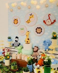 Ideas Baby Shower Decorations For Boys Animals Jungle Safari Festa Safari Baby, Safari Baby Shower Cake, Jungle Safari, Safari Theme, Baby Shower Signs, Baby Shower Fun, Baby Shower Themes, Shower Ideas, Decoracion Baby Shower Niña