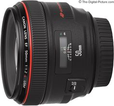 Canon EF 50mm f/1.2 L USM Lens  one of these days!