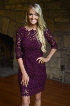 5fc20276cbd3 Burgundy Lace Dress – The Pulse Boutique Lace Burgundy Dress