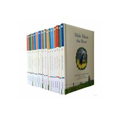The Wind in the Willows collection: 20 books (Mole Meets the River / Mole Falls In / Toads New Caravan / Toad Falls In Love / Lost in the Wood / Mole Meets Badger / A Day With Mr Badger / Mole Gets Homesick / Home Sweet Home / The Hour of Toad / The Piper at the Gates of Dawn / Toad Escapes / Toad and the Train / Ratty is Restless / Wayfarers All / Freedom / Ho Ho I am the Toad / Toad Hall in Trouble / The Rescue of Toad Hall / The Grand Banquet) [Hardcover]£29.85