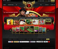 7RED -最好的網上賭場遊戲迪馬科爾敦,通過Behance