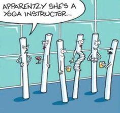 #Yoga #Zitat #Witz #Cartoon