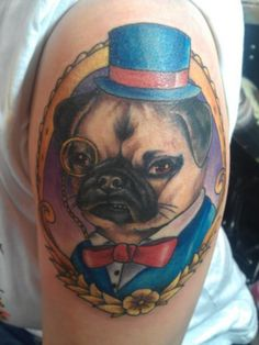 1000 images about pug tattoos on pinterest pug tattoo pug and sugar skull. Black Bedroom Furniture Sets. Home Design Ideas