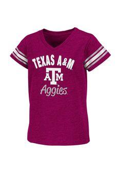 Texas A Aggies Girls Youth Maroon Shirt http://www.rallyhouse.com/shop/texas-am-aggies-colosseum-15038111?utm_source=pinterest&utm_medium=social&utm_campaign=Pinterest-TexasAMAggies $24.00