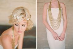 Love the long beaded necklace