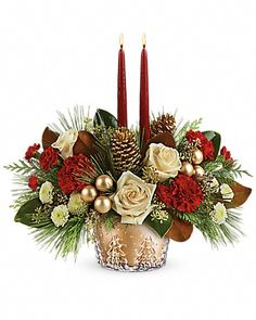 Image result for christmas centerpiece pine cedar