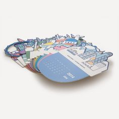 RMM Calendar 2014, Do you know? by Mr. Blue Whale | Readymade Objects Shop