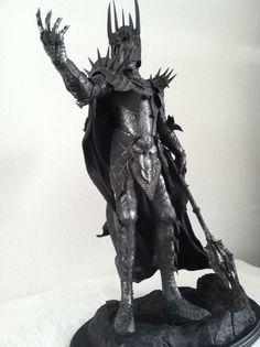 RARE LOTR Sauron Dark Lord of Mordor Statue Sideshow Weta 1149 9500 Nice | eBay