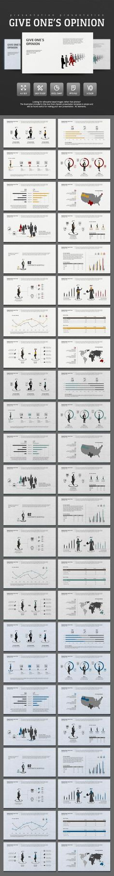 Give Opinion (PowerPoint Templates)