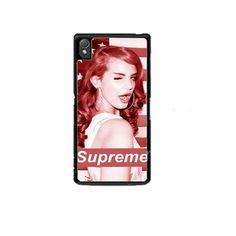 Lana Del Rey Supreme American Flag Sony Experia Z1 Z2 Z3 Case