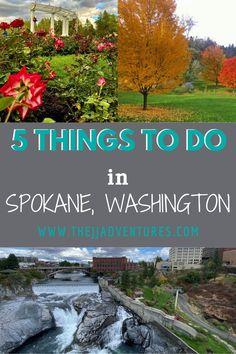 West Coast Road Trip, Road Trip Usa, 3 Days Trip, Day Trips, Spokane Washington, Washington State, Washington Things To Do, State Farm, Us National Parks