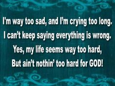 A LITTLE MORE JESUS LYRICS BY ERICA CAMPBELL - Y'all know some of those folks in the workplace make you sing this song everyday! - LOL!