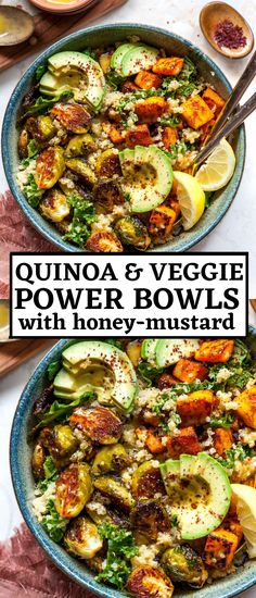 Quinoa and Veggie Power Bowls