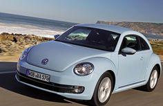 Volkswagen Beetle, Light Blue wallpapers