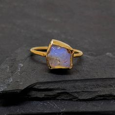 Hey, I found this really awesome Etsy listing at https://www.etsy.com/listing/538562778/eshqrock-raw-delicate-rough-opal-ring