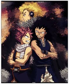 Image result for laxus and natsu