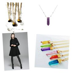 """""""Sticks and Stones: Metallic Meyhem"""" by joan-gray on Polyvore featuring Eclectic Eccentricity and Alex and Ani"""