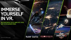 Nvidia's holiday bundle offers free games for upgrading to VR   Virtual reality has certainly made its rounds in 2016 but those still holding out on upgrading can now score some free games just for jumping on the VR wagon.  Nvidia purveyor of graphics cards like the GeForce GTX 1080 and 1070 are hosting a special bundle for those who buy a new GPU alongside one of the best VR headsets around: the HTC Vive.  The bundle includes three free games - robo-shooter Raw Data run-and-gunner Serious…