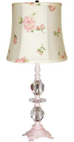 Love The Roses Rosebuds On Lamp Shade