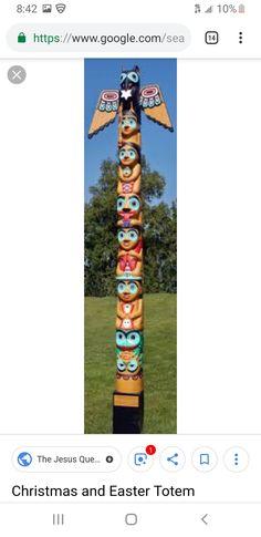 Totem Poles, Easter, Outdoor Decor, Christmas, Home Decor, Xmas, Totems, Decoration Home, Room Decor