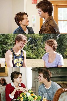 Hazel and Augustus Divergent Quotes, Tfios, Hazel And Augustus, Fault In The Stars, Hazel Grace Lancaster, Augustus Waters, John Green Books, All Meme, Ansel Elgort