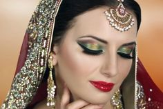 Arabic Party Makeup Style For Eyes