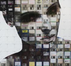 Floppy Disks Art by Nick Gentry